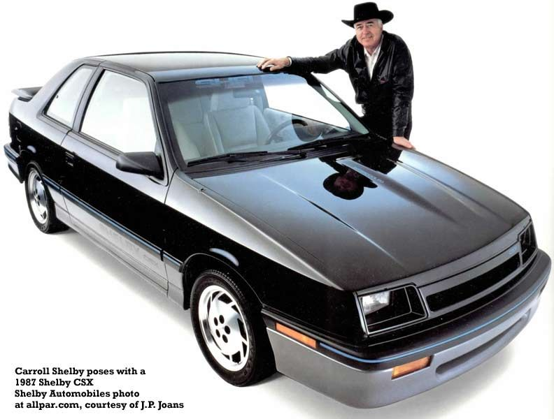 The Shelby Csx The Full Potential Of The Dodge Shadowplymouth