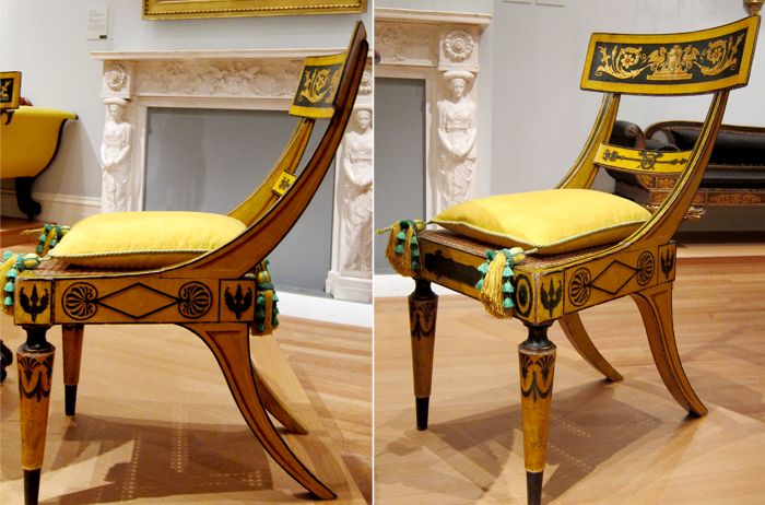 The met ny reproduction of dining chairs from
