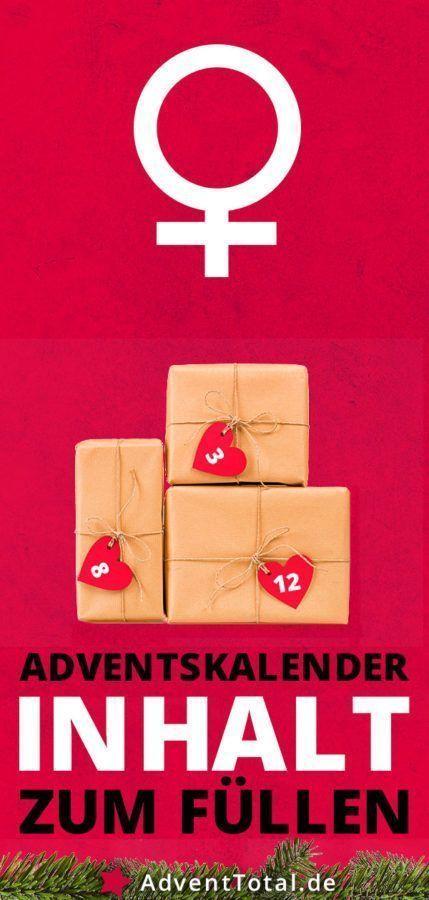 Adventskalender Inhalt zum Füllen für Frauen #adventskalenderinhalt Adventskal…