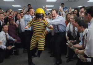 """The debauched office antics portrayed in Martin Scorsese's """"The Wolf of Wall Street"""" are much exaggerated, claims an executive represented in the film. Danny Porush, played by Jonah Hill as Donnie Azoff in the new film, spoke out about the crazy office antics in the movie, taken from a memoir by Porush's co-worker Jordan Belfort."""