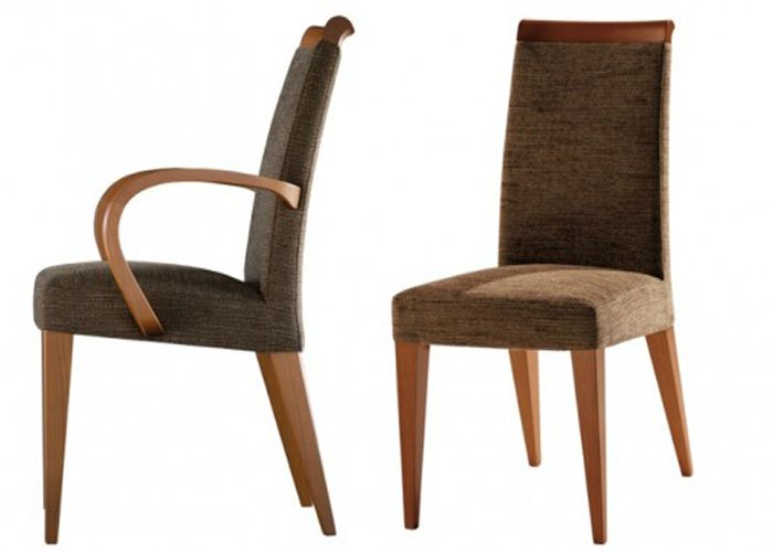 Modern Upholstered Dining Room Chairs With Arms Dining Room