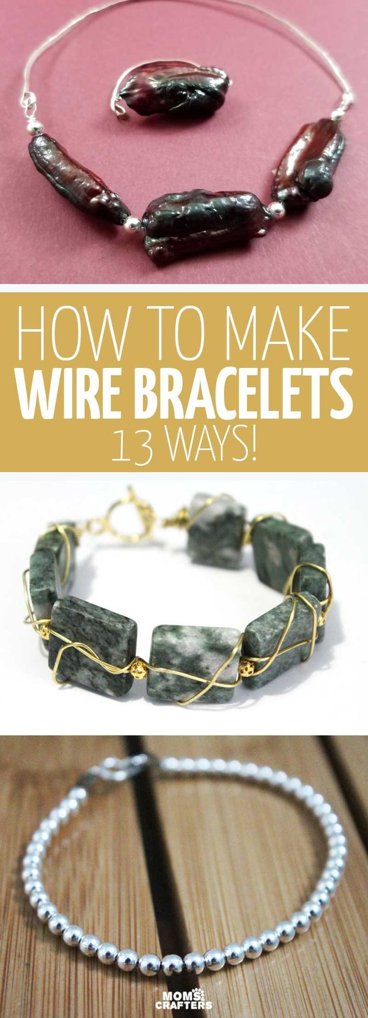 How to Make Wire Bracelets - wire wrapping, bangles, memory wire & more! -