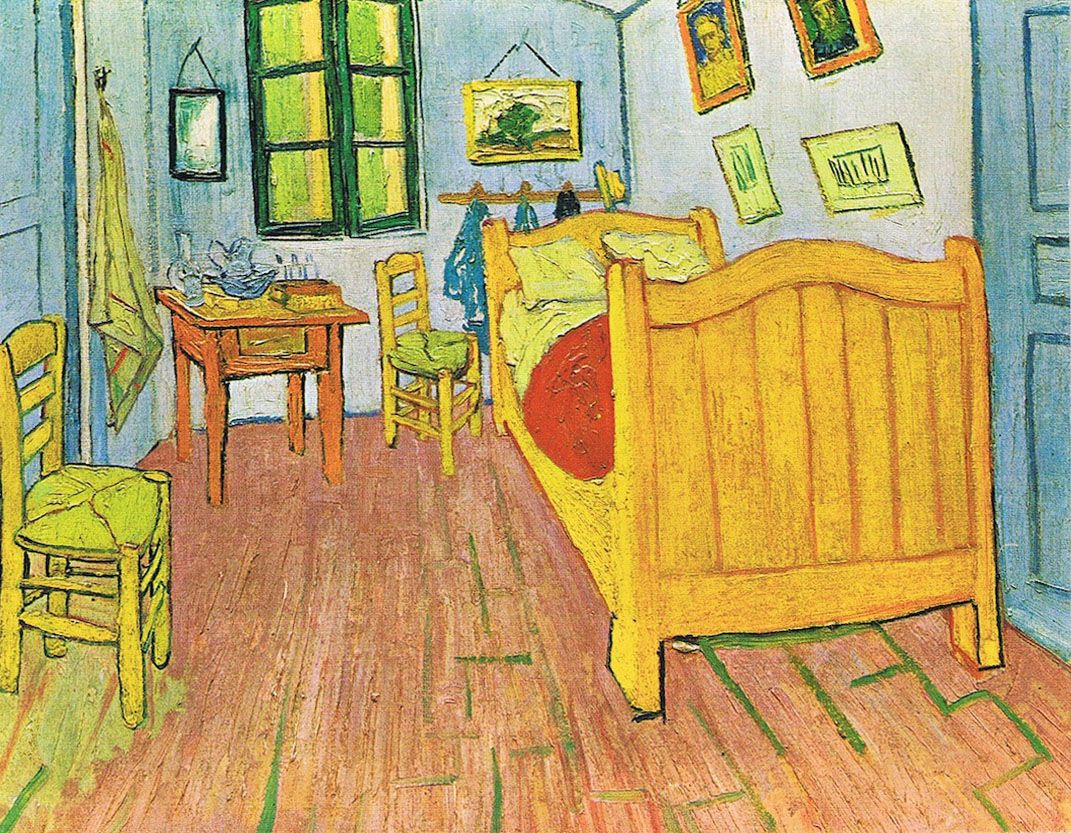 Vincent van Gogh, Slaapkamer in Arles (1888) | Vincent van Gogh ...