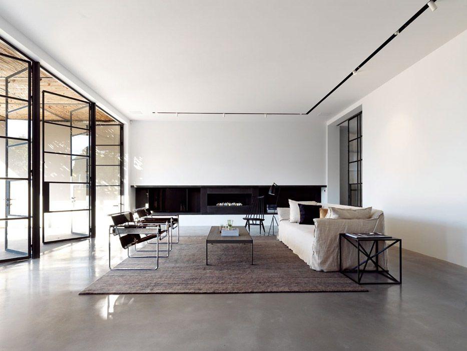 Woollahra residence sydney interni minimalisti for Architettura di interni