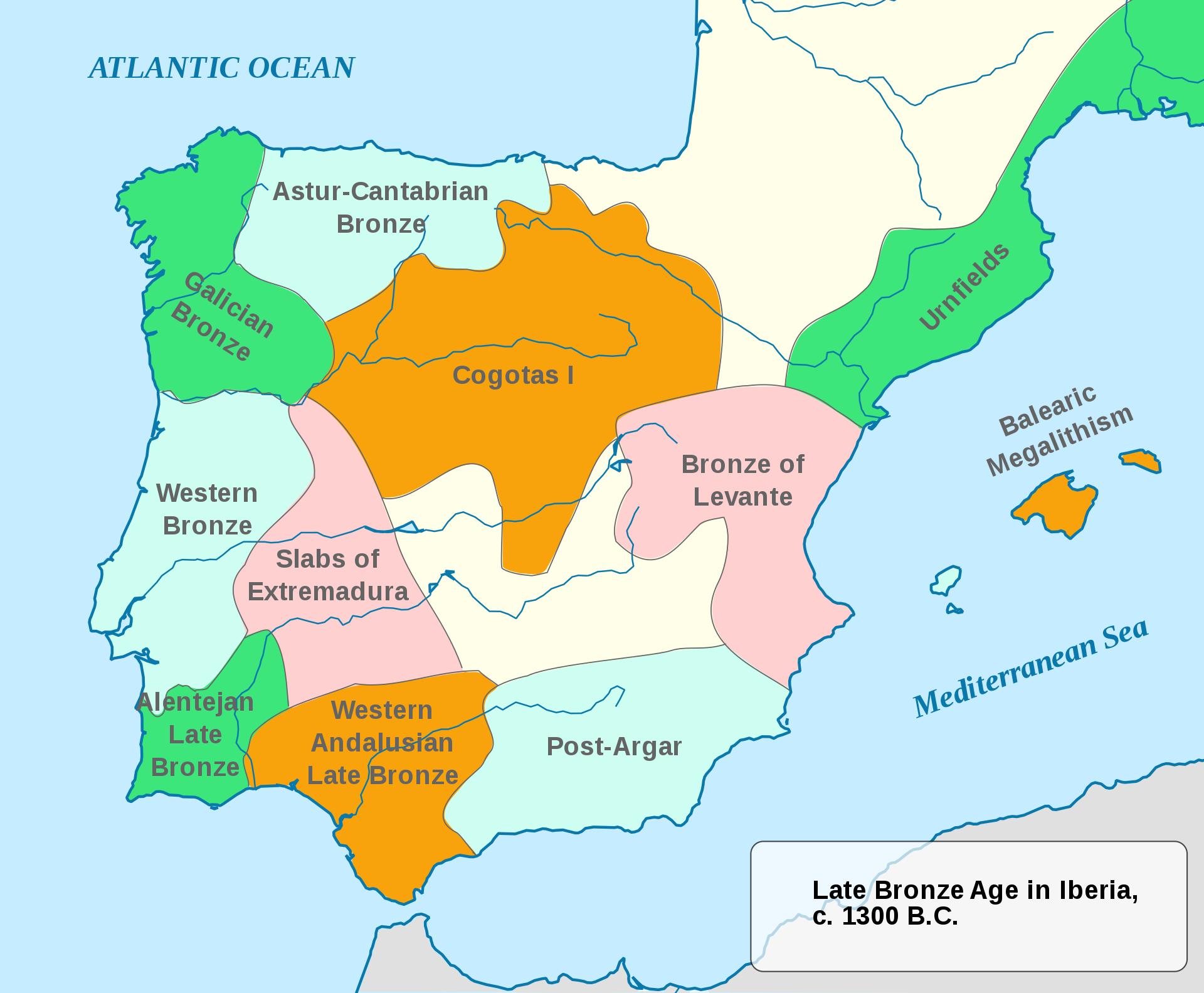 Iberian Late Bronze Age Since C Bc Met Afbeeldingen