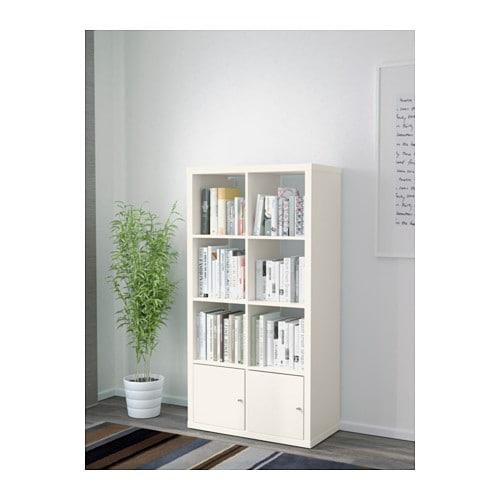 Kallax Shelf Unit With Doors Black