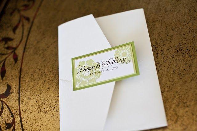 Dawn & Anthony Invitation