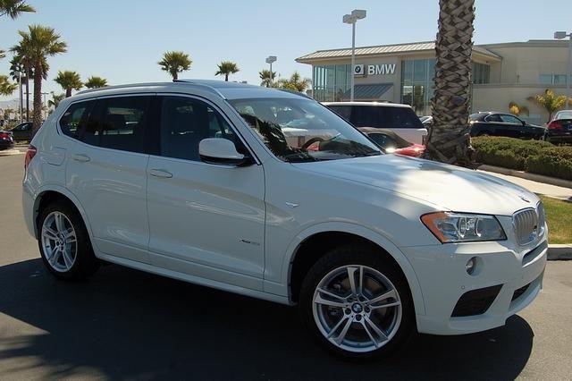 Bmw X Xdrivei I SUV Doors White For Sale In Santa - 2014 bmw x3 35i