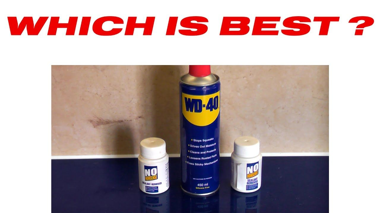 Wd 40 Versus Silicone Remover Youtube Wd 40 How To Remove Repair