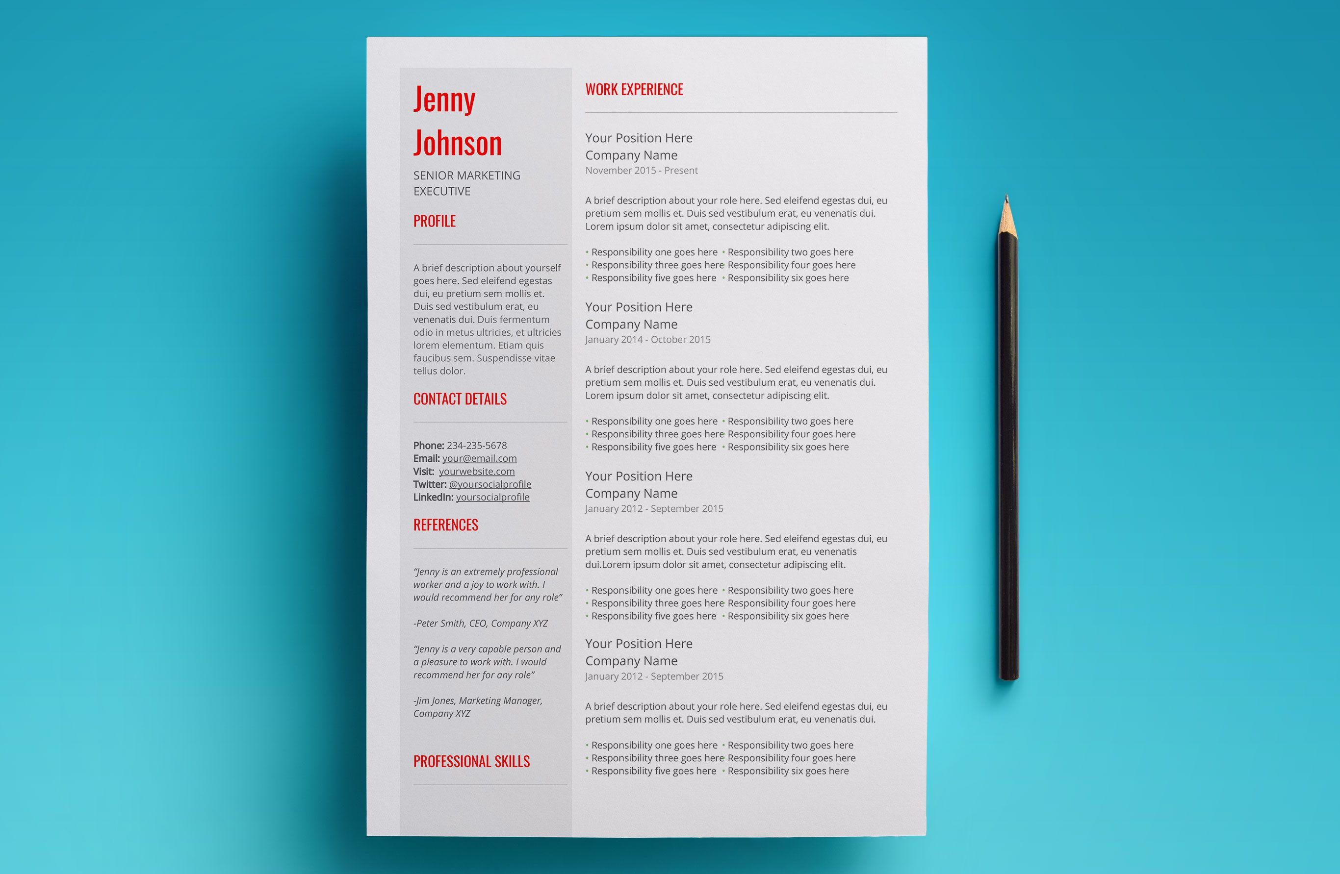 Pin By Craig Barber On Creative Cv  Resume Designs