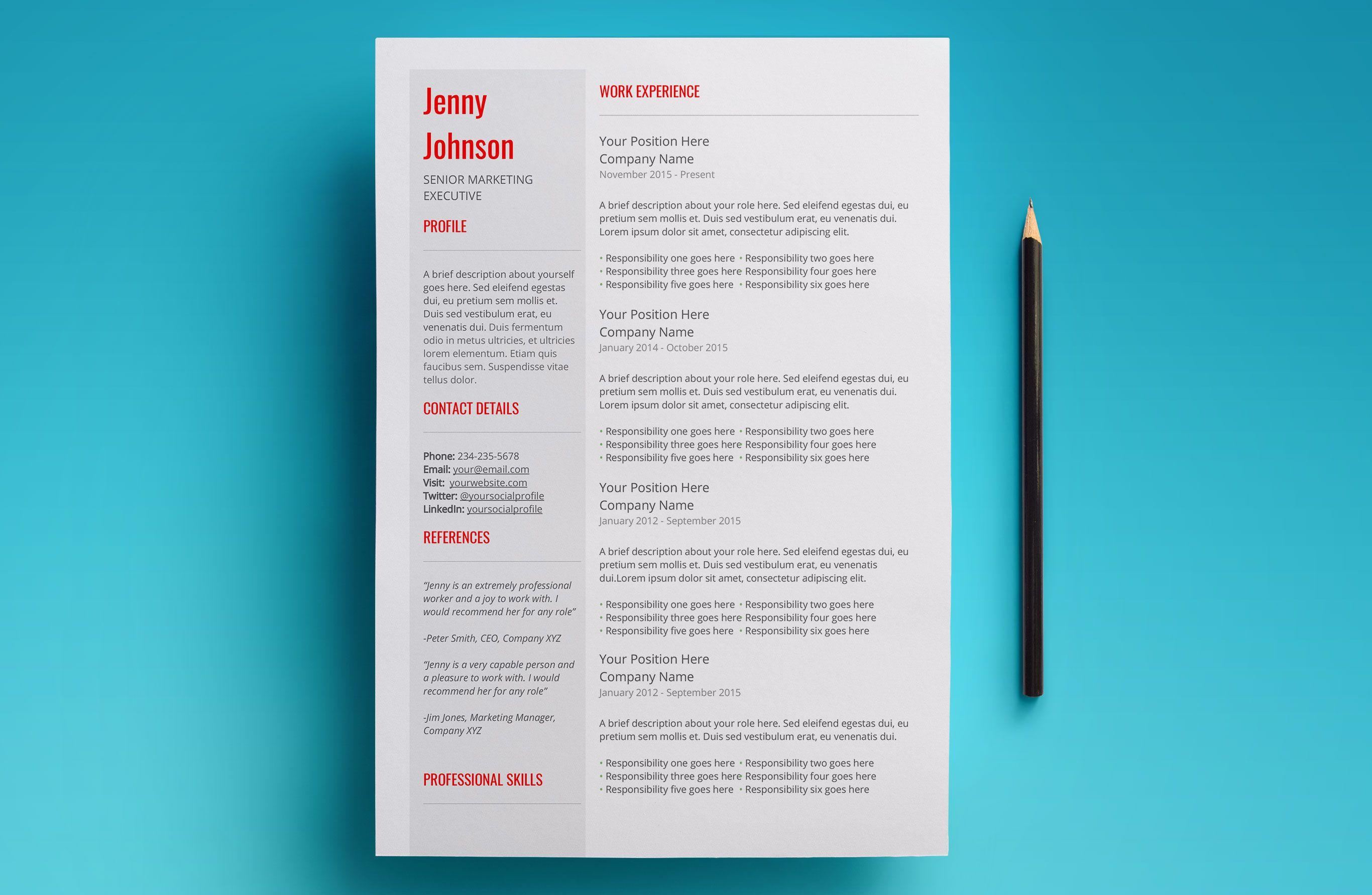 Pin By Craig Barber On Creative Cv  Resume Designs