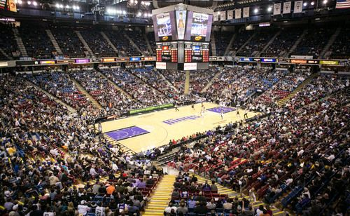 Sleep Train Arena: Since the NBA Season's in full throttle, our next stop is Sleep Train Arena, to check out the home of the Sacramento Kings. Sleep Train Aren...