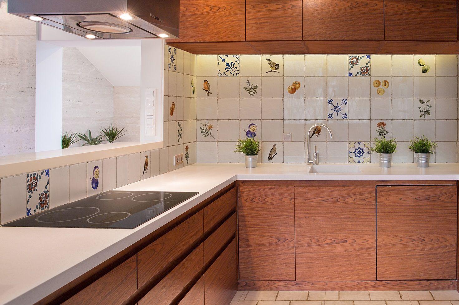 küchenspiegel fliese vintage antik dekore wandfliese historisch