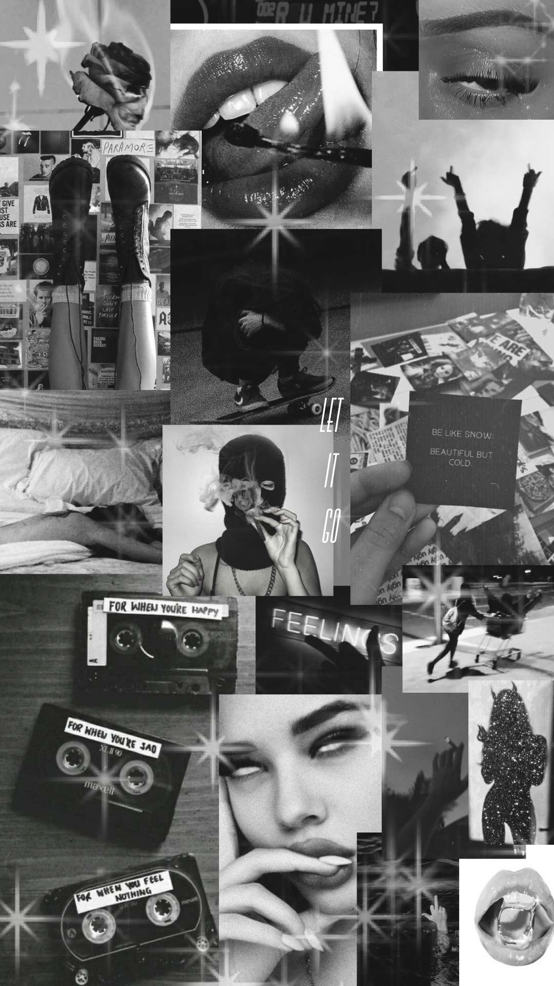 Pin by Moixx Hmar on my wallpapers | Black aesthetic ...