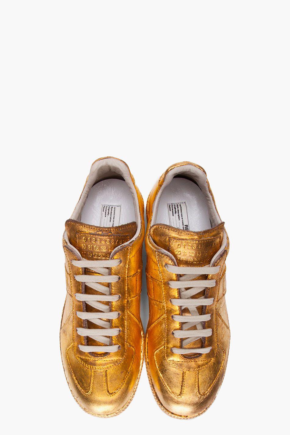 Everything Sneakers Gold Margiela These Metallic Martin Maison Are ARLjq354