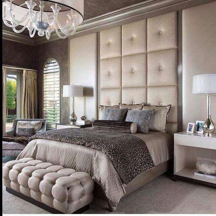 46 Erstaunliche Luxus Champagner Schlafzimmer Ideen mit ...
