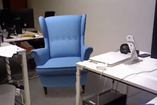 jusqu 39 maintenant ikea et les autres soci t s montrant des objets en r alit augment e n. Black Bedroom Furniture Sets. Home Design Ideas
