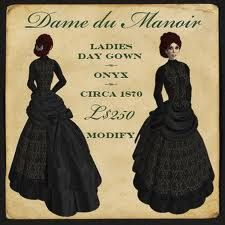 free pattern gothic victorian overskirt - Google Search