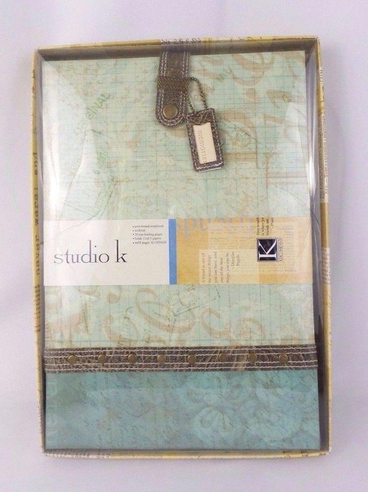 K  Company Studio K Breeze Scrapbook Album \