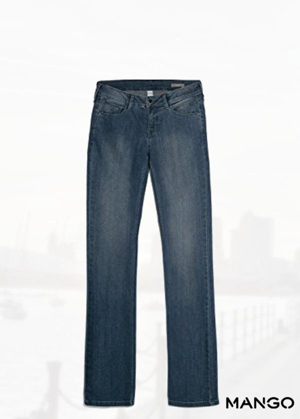 f9cfc19393 Mango Women s Straight-Fit Christy Jeans