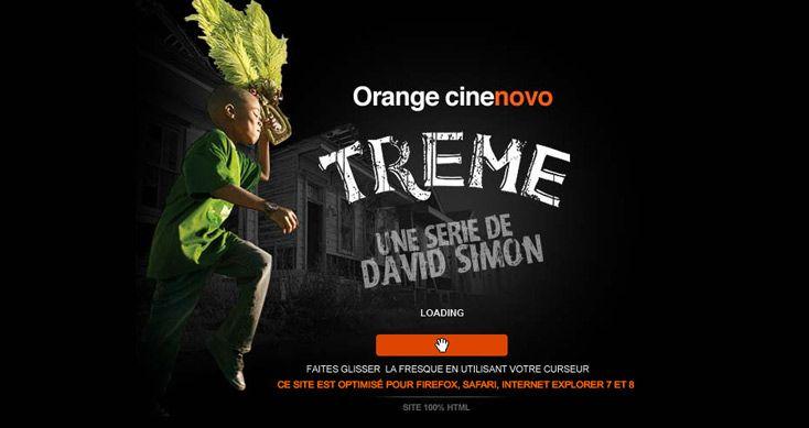 Site of the Month September 2010  http://www.orangecinemaseries.fr/evenement/treme/  Treme