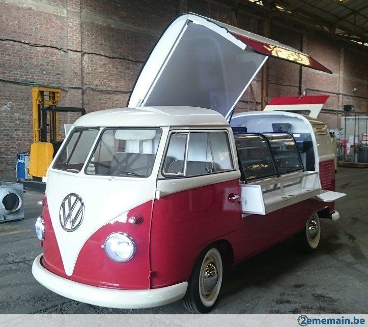 vw combi t1 food truck foodtruck pinterest primeur cr perie et jante. Black Bedroom Furniture Sets. Home Design Ideas