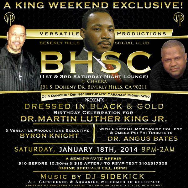 Beverly Hills Social Club :: Saturday, January 18th