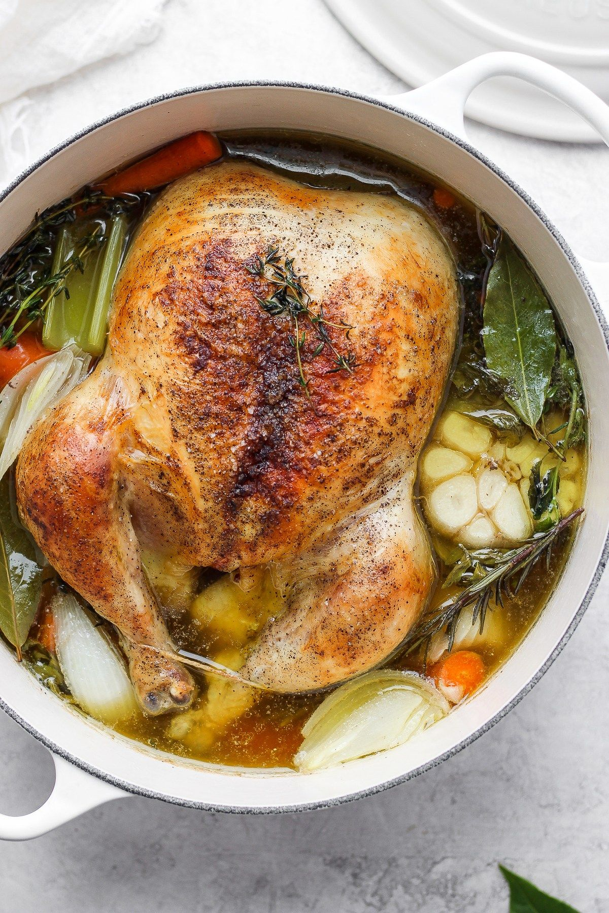 Sunday Afternoon Roasted Chicken Soup Recipe The