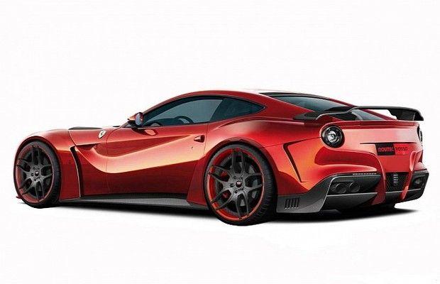 Teaser: Novitec's New Ferrari F12 N-Largo #newferrari