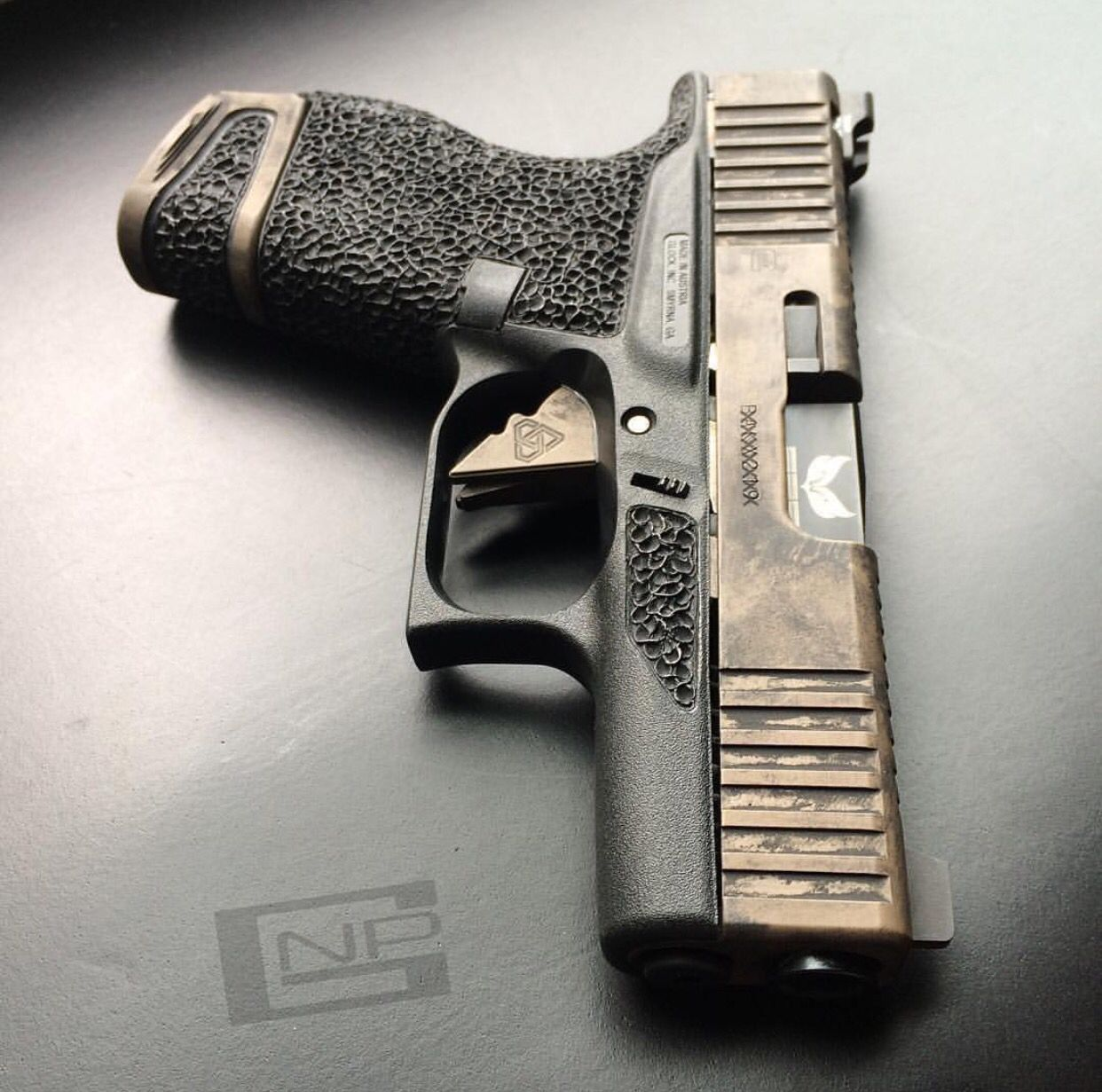 best 25 custom glock 43 ideas on pinterest [ 1242 x 1231 Pixel ]