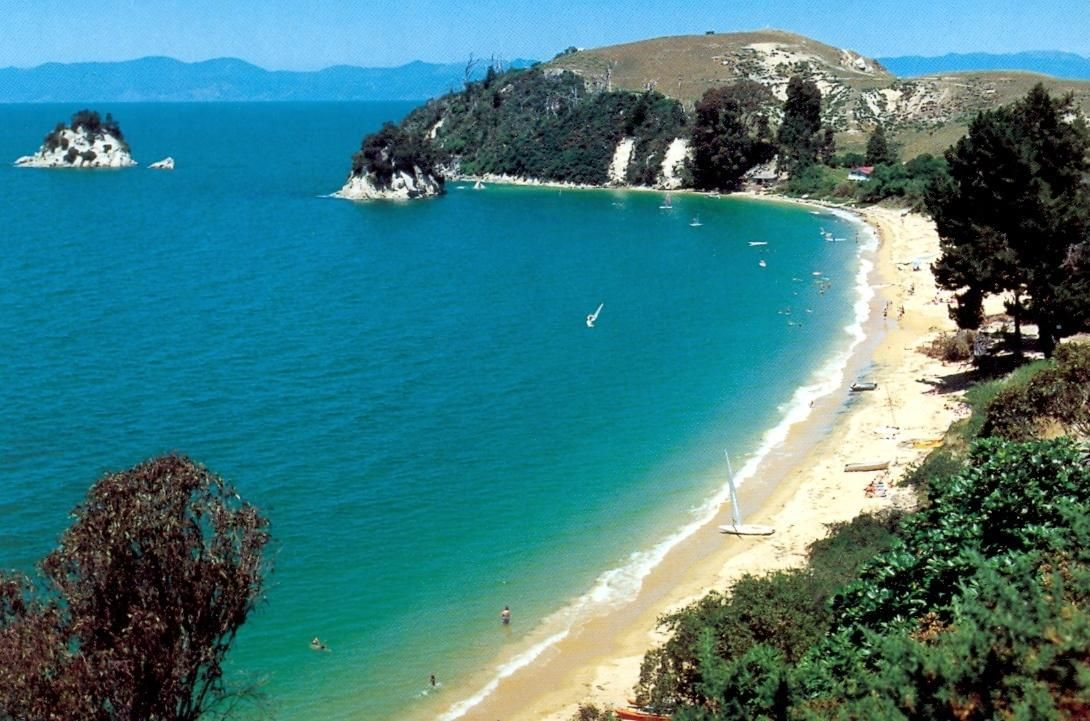 Little Kaiteriteri, Nelson, NZ, my favorite place in summer :)