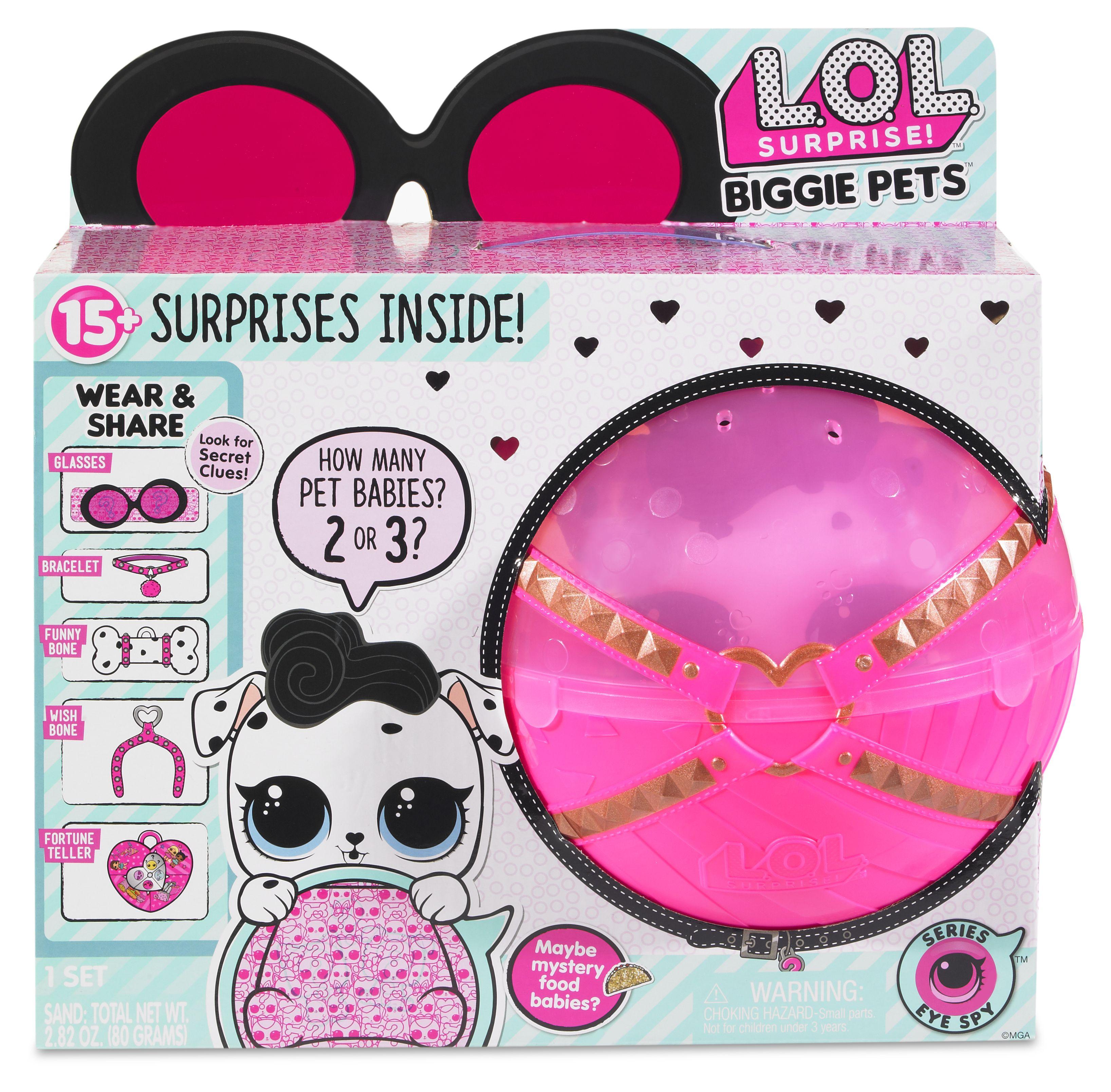 Lol Surprise L O L Surprise Biggie Pets Dollmatian Juguetes
