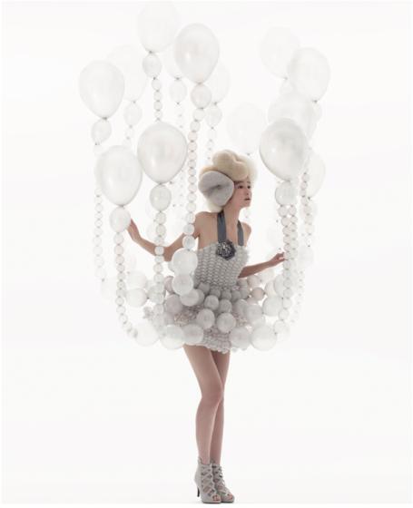 Rie Hosokai for Daisy Balloon #Bubbledresses!!
