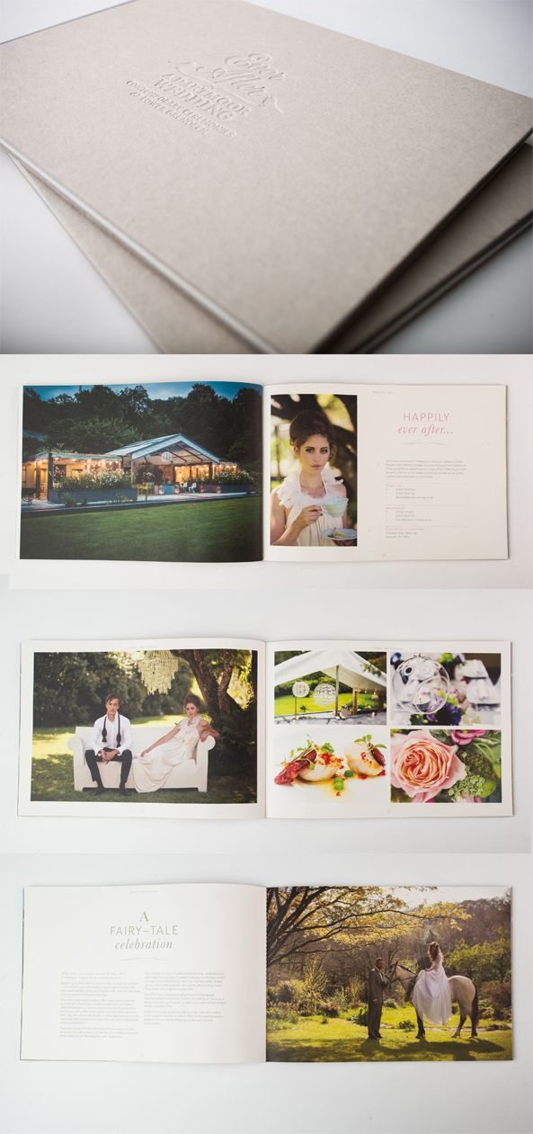Brochure For Ever After Wedding Venue By The Weareabsoluteuk Design Team Www