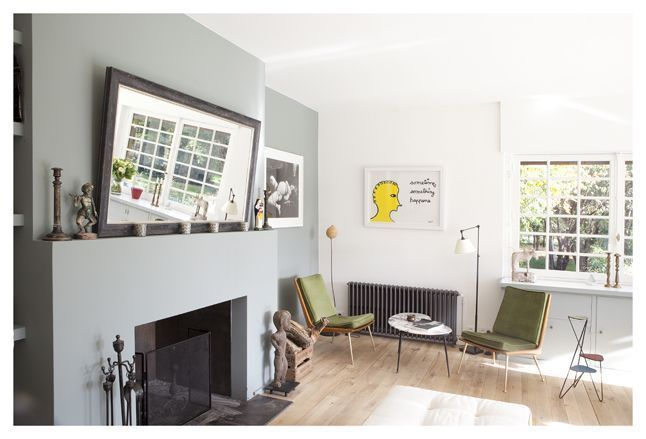 Salon contrasté et lumineux Beranger Pinterest Salons