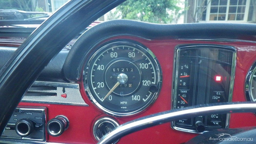 1970 MERCEDES 280SL R113 SPORTS   Unique Interiors   Pinterest ...