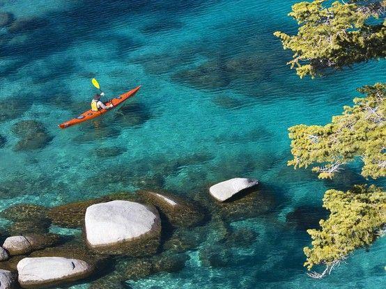kayaking Lake Tahoe kayaking Lake Tahoe