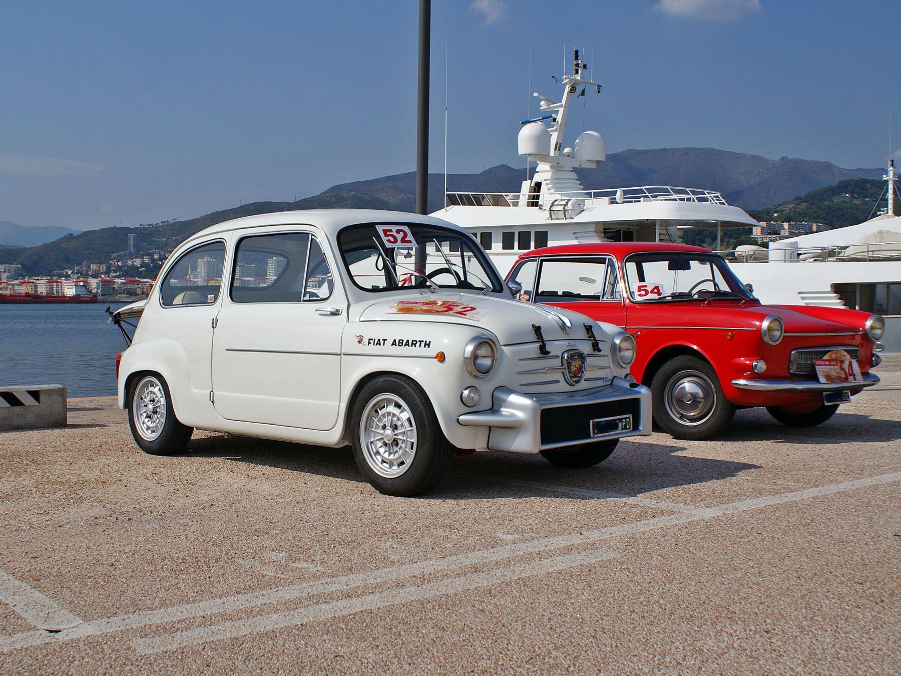 Fiat Abarth 850 Tc Fiat Abarth Fiat 600 Fiat