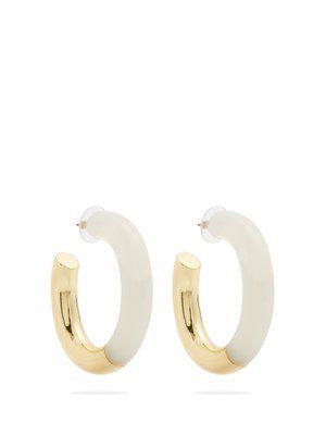 Lizzie Fortunato Summer of Love Hoop Earrings JxT8GPEh
