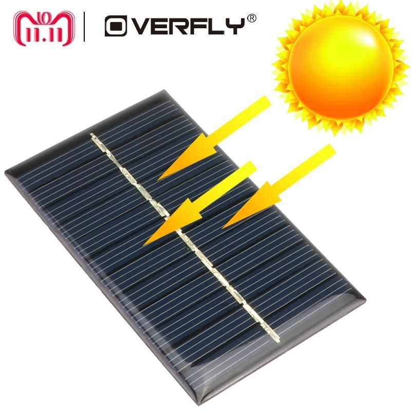 Solar Panel 5 V 6 V 12 V Mini Solar System Diy Fur Batterie Handy Ladegerate Tragbare Solarzelle 0 15 Watt 0 6 W Solar Panels Mini Solar Panel Solar Panel Kits