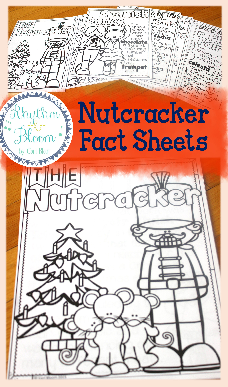 Nutcracker Listening Journal Amp Fact Sheets