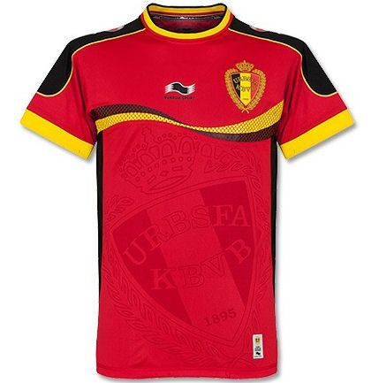 size 40 4a5b4 a53f2 Belgium Home Kit for World Cup 2014 #WorldCup #Belgium ...