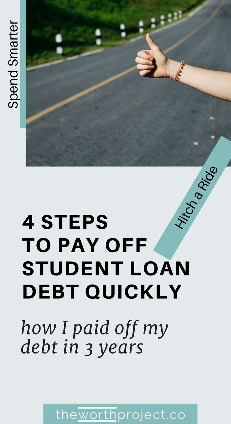 How i paid off 120k in student loans in 3 years student