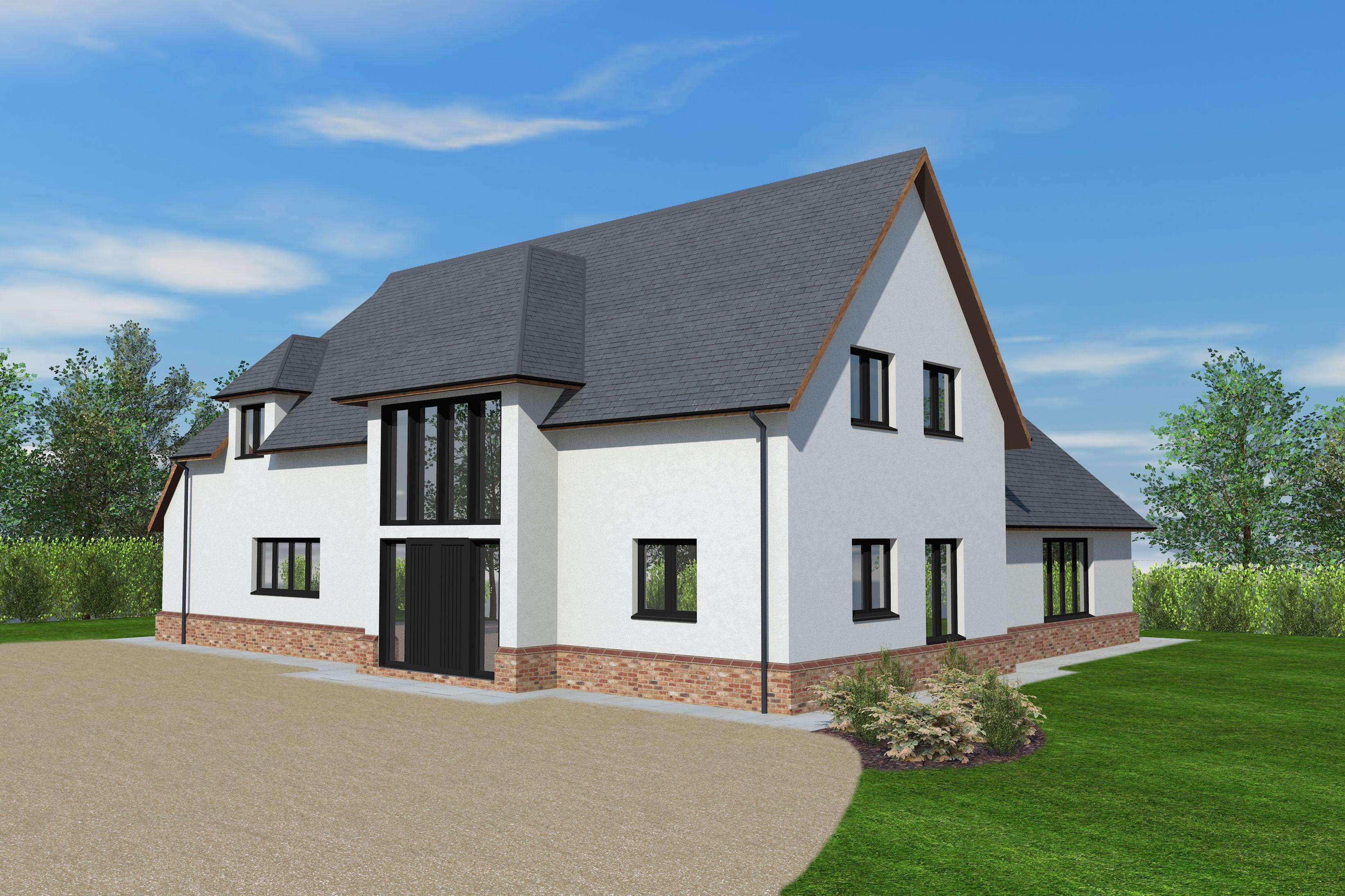 Linhay Barn - Timber Frame Design Exterior House