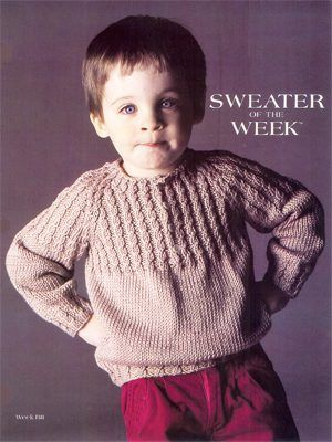 Cable Yoke Raglan Sweater Free Pattern Tricot Tricot Enfant