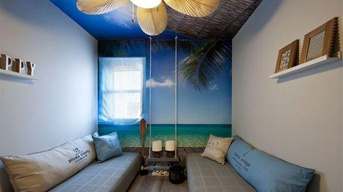 """חופשה בתאילנד - במסגרת פרויקט """"צו 8 למעצבות"""" הפכו המעצבים הילה ודן המאירי את החדר הדל לפיסת גן עדן"""