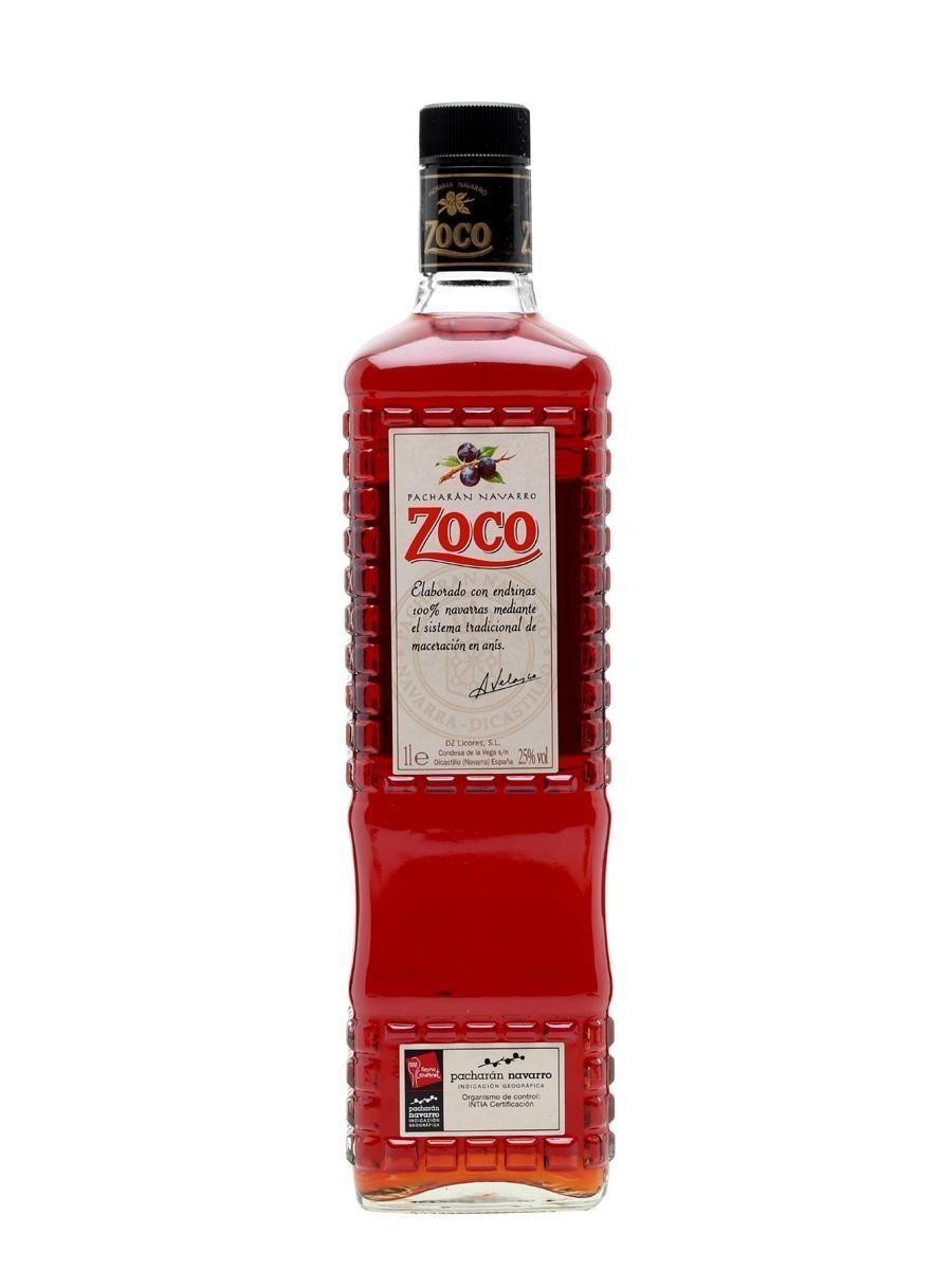Zoco Pacharan Liqueur 750ml Crown Wine Spirits Liqueur Vanilla Coffee Whisky