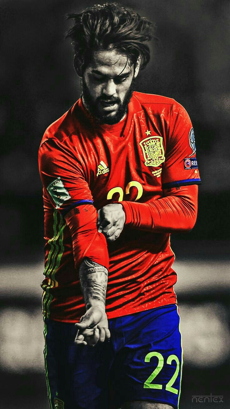 Pin by Canal Gomes on ídolo Isco, Spain football, Madrid