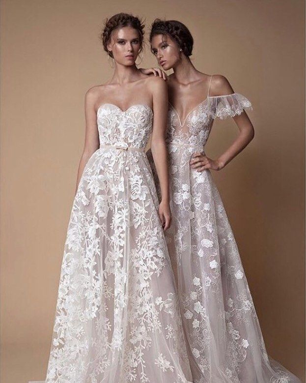 Berta Kim >> Oh So Romantic And Delicate Lace Loveliness From Berta Hands Up