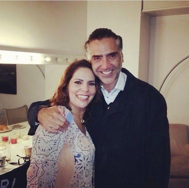 Con el potrillo #AlejandroFernandez